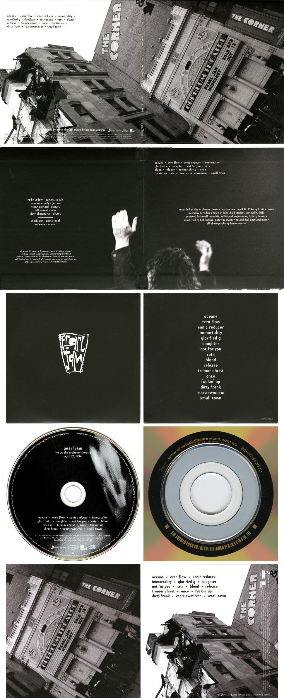 Pearl jam vs. & vitalogy & live (3cd deluxe edition) | bilbo.
