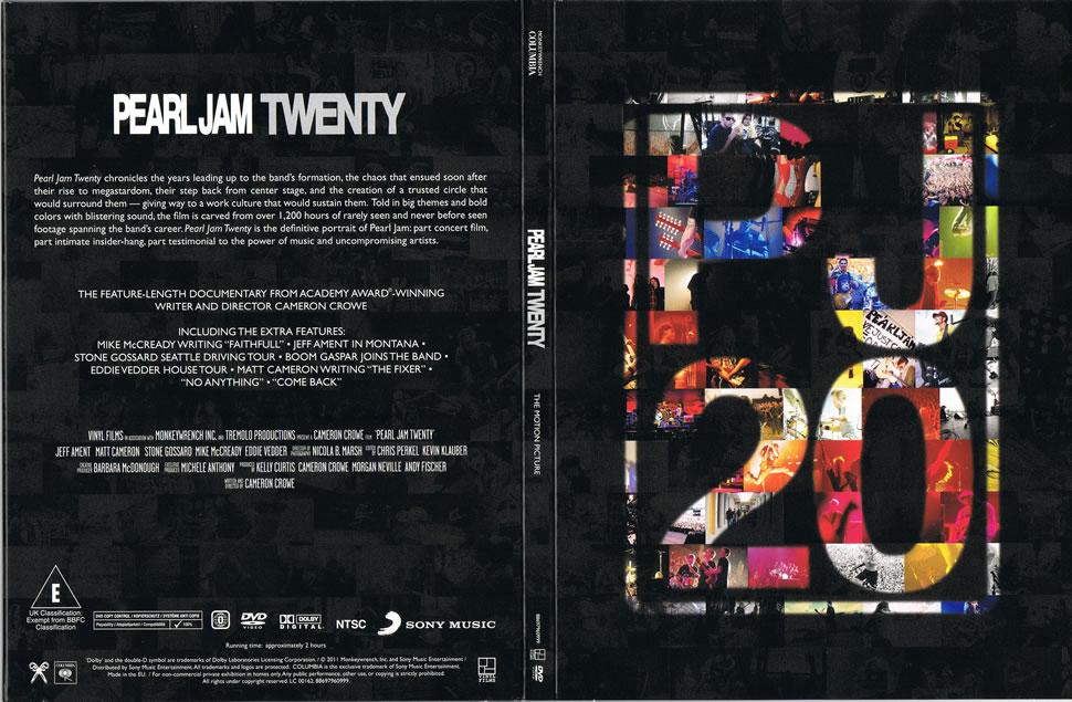 pearl jam - pearl jam twenty - 5 u0026 39  u0026 39  dvd