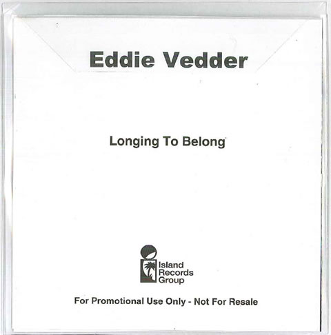 Eddie vedder longing to belong 5 39 39 cd r plastic for Fishs eddy coupon