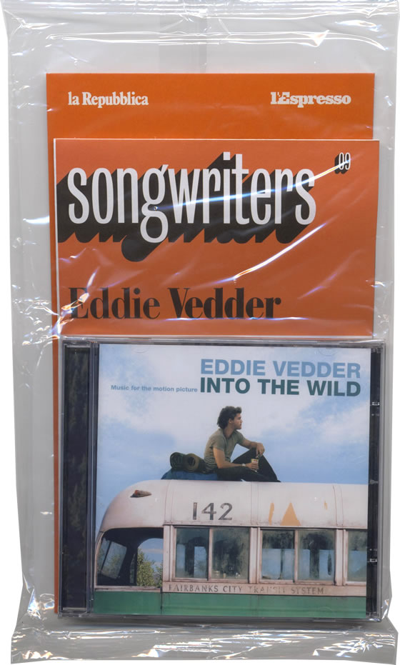 Eddie vedder into the wild 5 39 39 cd jewelcase in for Fishs eddy coupon