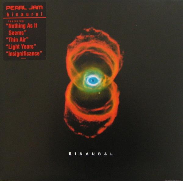 Pearl Jam Binaural 12 Black Double Vinyl 3 Fold