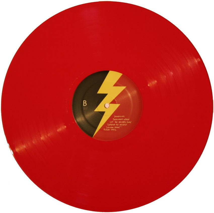 Pearl Jam Lightning Bolt Red Vinyl Replacement