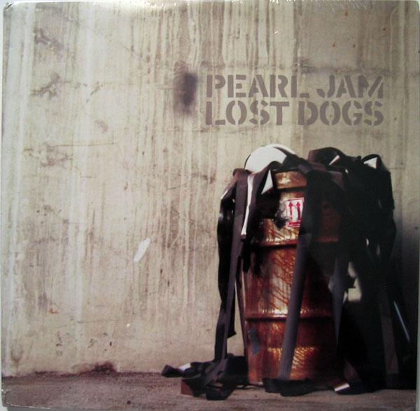 Pearl Jam Lost Dogs 12 Black Triple Vinyl 3 Fold