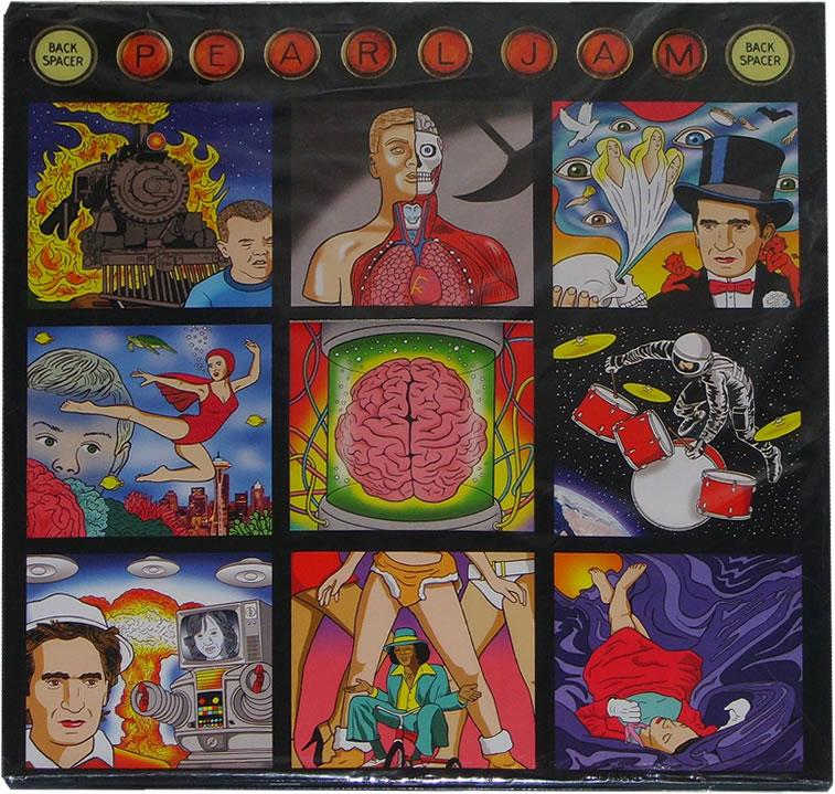 Pearl Jam Backspacer 12 Black Vinyl Gatefold Die