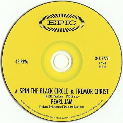 Pearl Jam Spin The Black Circle 5 Cd Jewelcase