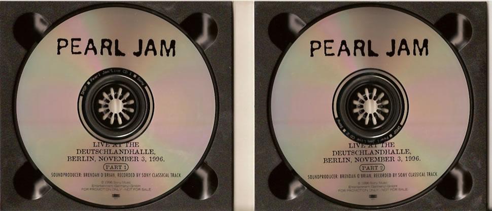 Pearl Jam - Live At The Deutschlandhalle, Berlin, November 3