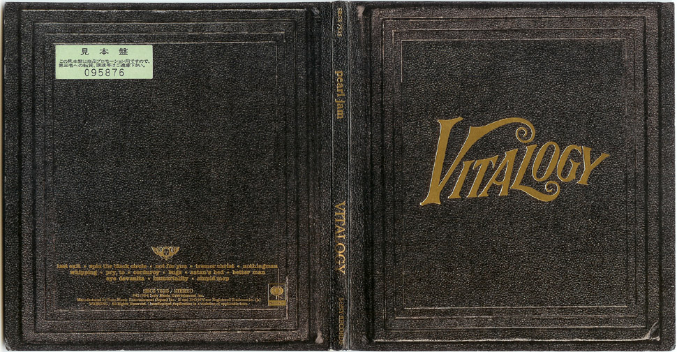 cd vitalogy pearl jam