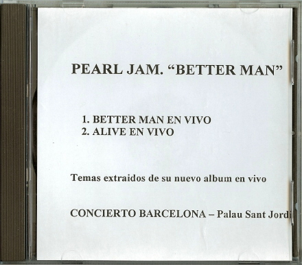 pearl jam better man single