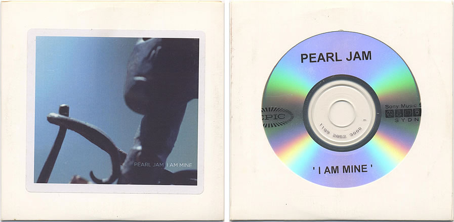 Pearl jam i am mine 5 39 39 cd die cut sleeve for Fishs eddy coupon