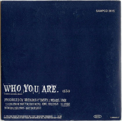 Pearl jam who you are 5 39 39 cd cardsleeve austria for Fishs eddy coupon