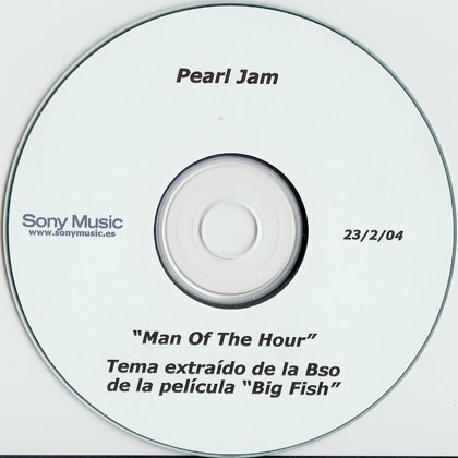 Pearl jam man of the hour 5 39 39 cd cardsleeve spain for Fishs eddy coupon