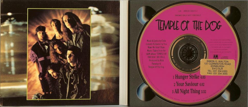 temple of the dog hunger strike 5 39 39 cd stickered digipak uk. Black Bedroom Furniture Sets. Home Design Ideas